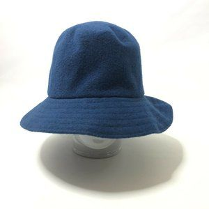 Kangol Large Blue Wool Bucket Hat